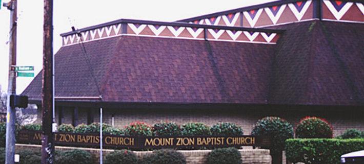 Mount Zion Baptist Church Landmark